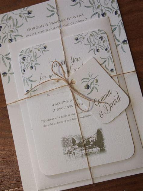 wedding invitations wording in italian mediterranean wedding invitation reply card bundle
