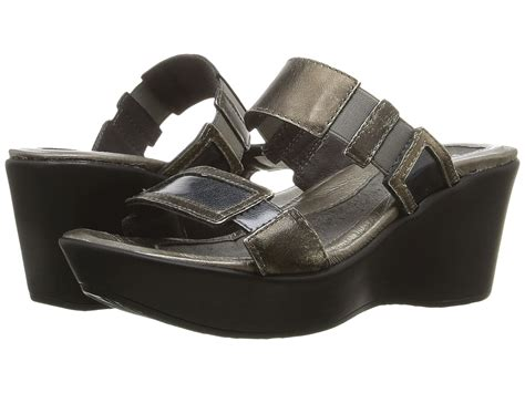 naot sandals naot footwear treasure metal grey combination zappos
