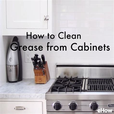how to clean kitchen cabinets grease clean those smudgey greasy kitchen cabinets with this