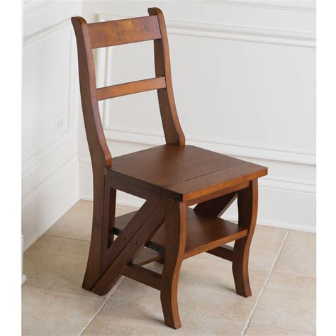 Benjamin Chair by The Benjamin Franklin Library Ladder Chair Hammacher
