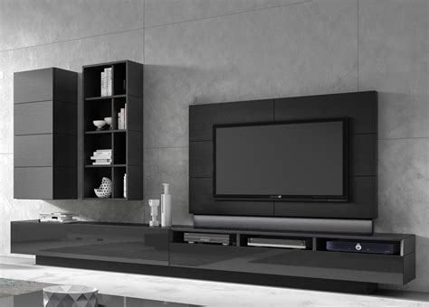 unit tv ginza tv unit wall unit 04 contemporary wall units