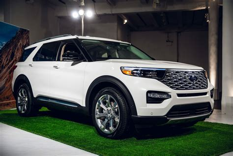 2020 The Ford Explorer by The 2020 Ford Explorer Is All New From The Ground Up