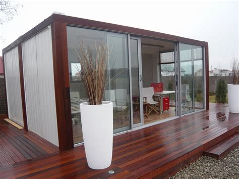 Adding Shipping Container To House - shipping container an affordable way to add space to your