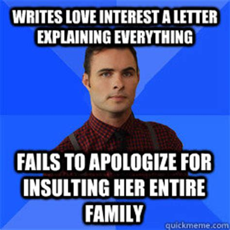 Apology Letter To For Insulting Writes Interest A Letter Explaining Everything Fails To Apologize For Insulting Entire