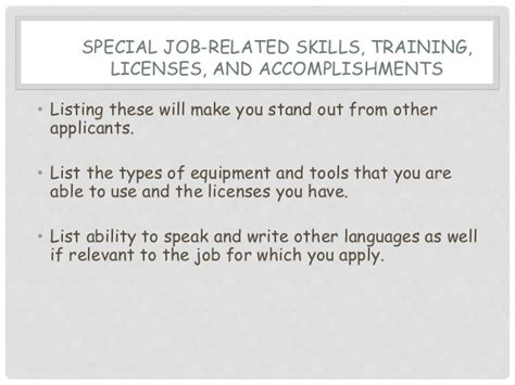 resume qualifications and skills examples resume qualifications