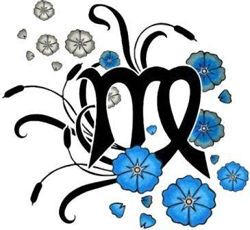 50 zodiac sign with flowers tattoos virgo birth flower flowers ideas for review