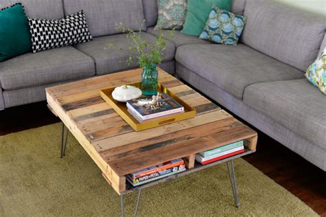 Do It Yourself Coffee Table Do It Yourself Cool Coffee Tables The Budget Decorator