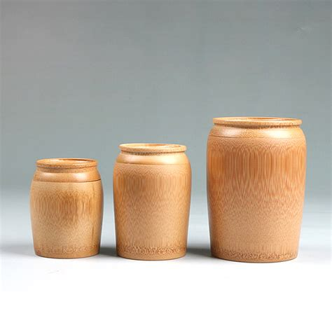 Bamboo Canisters For The Kitchen by Tea Caddy Portable Bamboo Sealed Jar For Storage Made