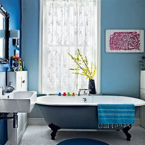 blue bathroom decorating ideas modern blue bathroom bathroom decorating ideas bathroom housetohome co uk
