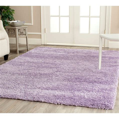 lilac area rug safavieh california shag lilac 4 ft x 6 ft area rug