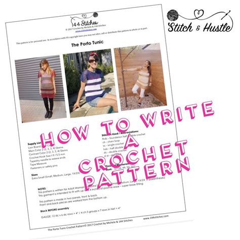 crochet pattern writing 31 best crochet pattern writing images on pinterest