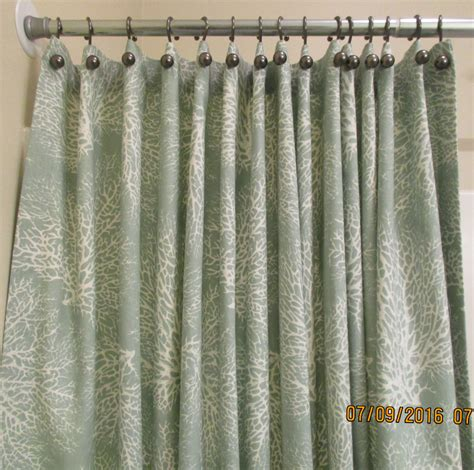 x long shower curtain shower curtain extra wide extra long reg lengths also