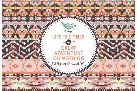 aztec pattern tumblr themes hipster seamless aztec pattern patterns on creative market