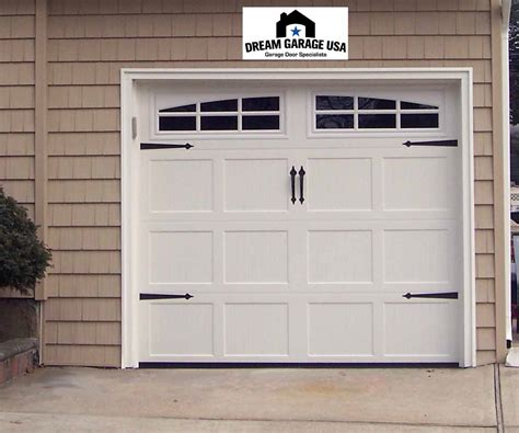 White Garage Door Design Quecasita Garage Doors