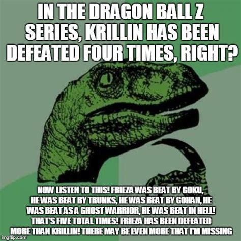 Z Memes - dragon ball z krillin meme