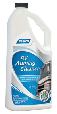 cleaning rv awning mildew camco rv awning cleaner 32 oz 41022