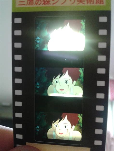 studio ghibli film cell tickets from the studio ghibli museum are made from snips