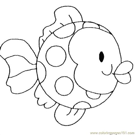 coloring pages childrens fish animals gt fishes free