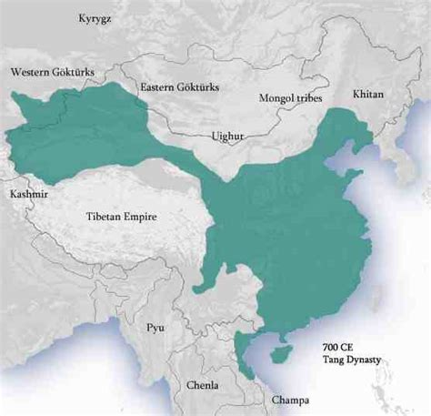 tang dynasty map history for dummies part 6 the sui and tang