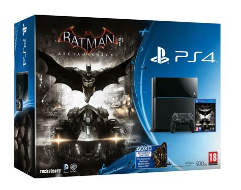 Dijamin Batman Arkham Of The Year Ps4 limited edition batman arkham steel grey ps4 announced vg247