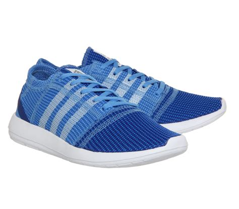 adidas element refine adidas originals element refine in blue lyst