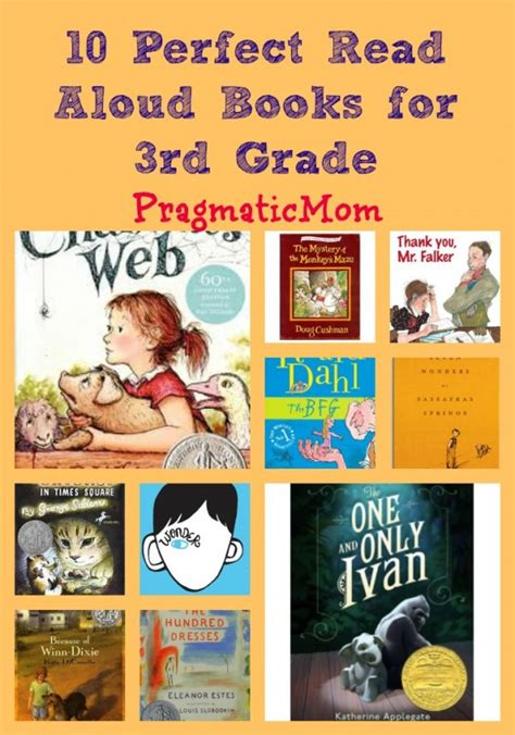read picture books 10 read aloud books for 3rd grade pragmaticmom