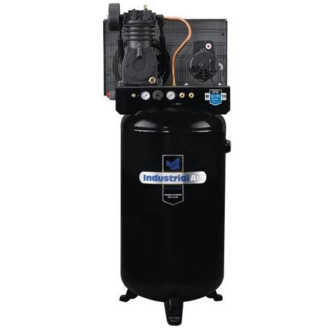 industrial air 80 gal stationary electric air compressor iv5048055 the home depot
