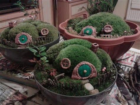 hobbit house diy diy hobbit house mini garden youtube tutorial fairy garden lord of the rings themed