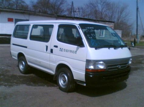 Toyota Hiace For Sale 2003 Toyota Hiace Pictures 3000cc Diesel Automatic For