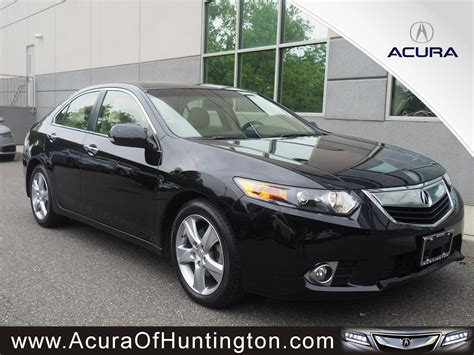 Used 2010 Acura Tsx by Pre Owned 2013 Acura Tsx 2 4 4dr Car In Huntington Ua7066