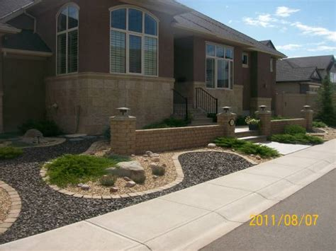 landscaping ideas for front yard with rocks frontyard landscaping