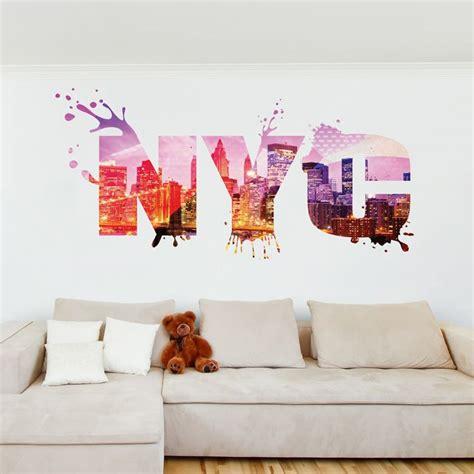 stickers muraux chambre ado les 25 meilleures id 233 es concernant chambre de york sur