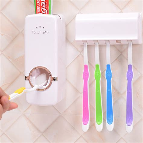 Jual Pasta Gigi Clean Me jual touch me new toothpaste dispenser brush set
