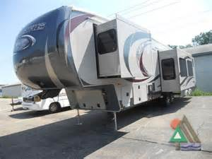 fifth wheel with outdoor kitchen 5th wheel bunkhouse outdoor kitchen cing