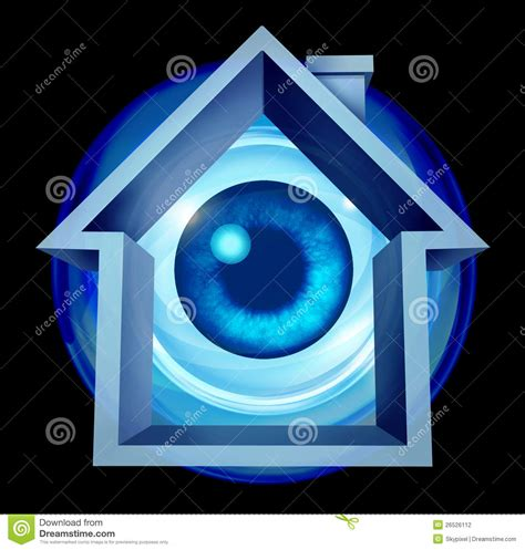 home security stock photography image 26526112