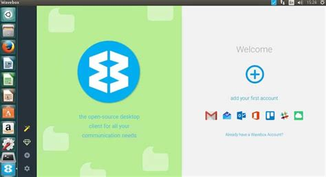Office 365 Outlook Linux Wavebox Email Client Gmail Outlook Office 365 Slack