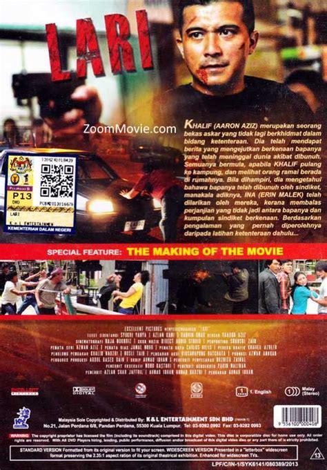 film malaysia lari lari dvd malay movie 2013 cast by aaron aziz dira