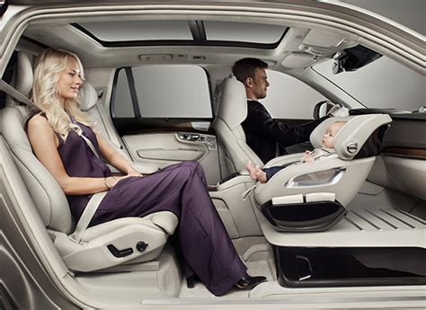 clever volvo child seat concept  appeal consumer reports