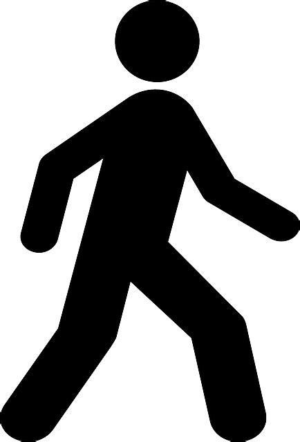 To Walking by L Homme Personne Symbole 183 Images Vectorielles Gratuites