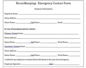 Connected Care Precertification Request Form Why Your Company Needs To Keep Emergency Contact