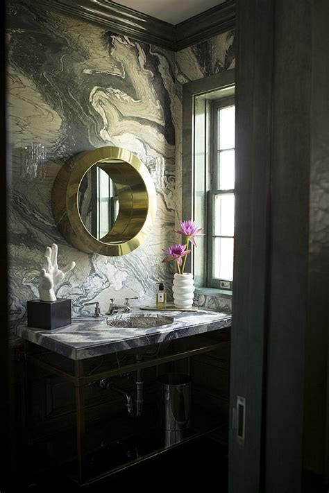 rich bathrooms masculine and feminine bathrooms quot his quot and quot hers quot powder rooms