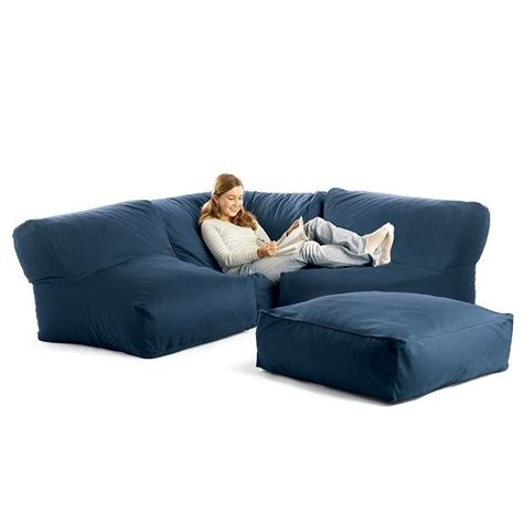 how to make a bean bag couch bean bag sectional sofa ideas for the basement pinterest