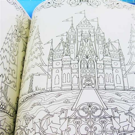 stout design len enchanted castle coloring book murderthestout