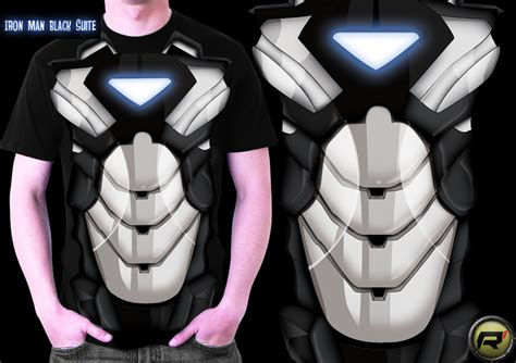Tshirt Ironman Disain Ironman 10 by Iron Black Suite T Shirt By Rdc10 On Deviantart