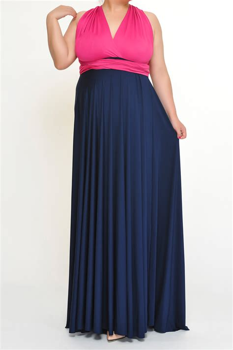 plus size infinity bridesmaid dresses 2 colors ps6675