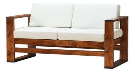 wooden 2 seater sofa sheesham wood sofa online memsaheb net