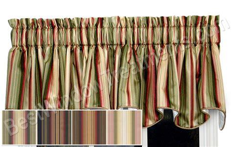 Striped Valances Window Treatments mateo twill stripe duchess filler valance window treatments
