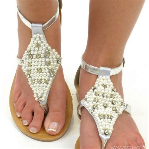 Pretty Wedding Sandals by 17 Best Images About Silver Sandals On Silver