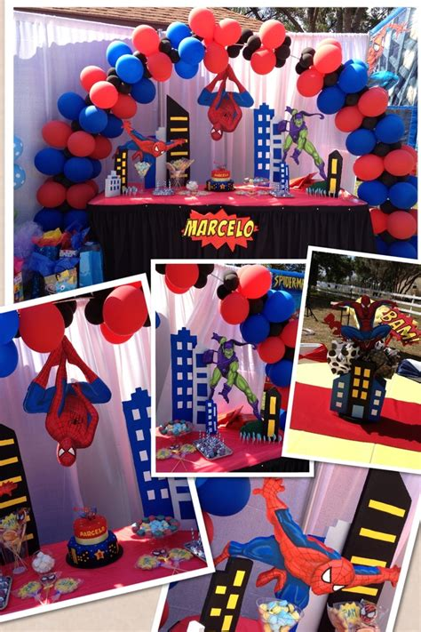 birthday themes spiderman spiderman birthday party decorations my birthday