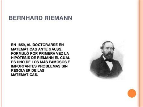 bernhard riemann aportaciones calculo diferencial aportaciones al calculo